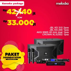Paket Sound System - Karaoke package