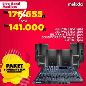 Paket Sound System - Live band medium