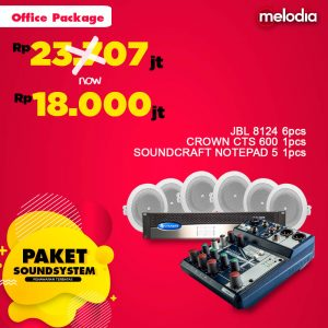 Paket Sound System - Office Package
