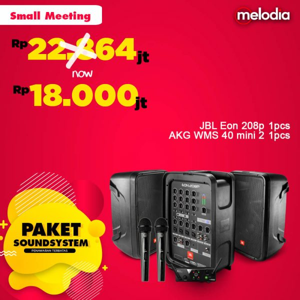 Paket Sound System - Small Meeting